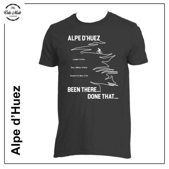 Alpe d'Huez Cycling T-Shirt Velo Mule