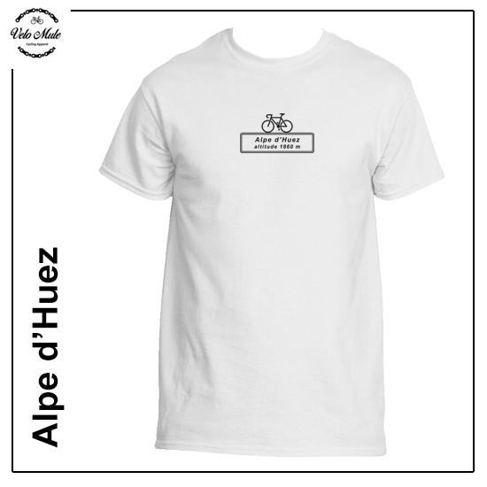 Alpe D'Huez Altitude Cycling T-Shirt Velo Mule