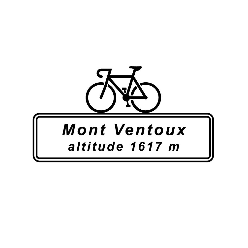 Mont Ventoux Altitude Cycling T-Shirt Velo Mule