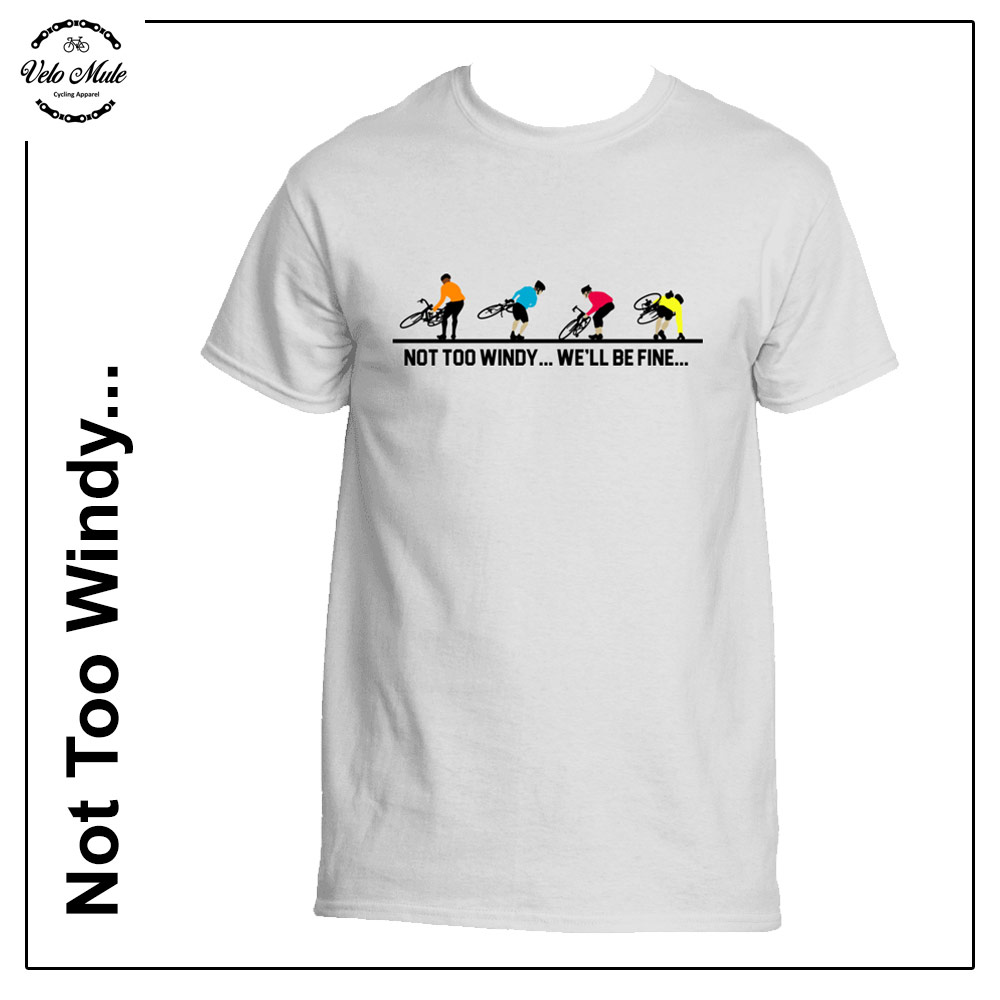 Windy Cycling T-Shirt Velo Mule