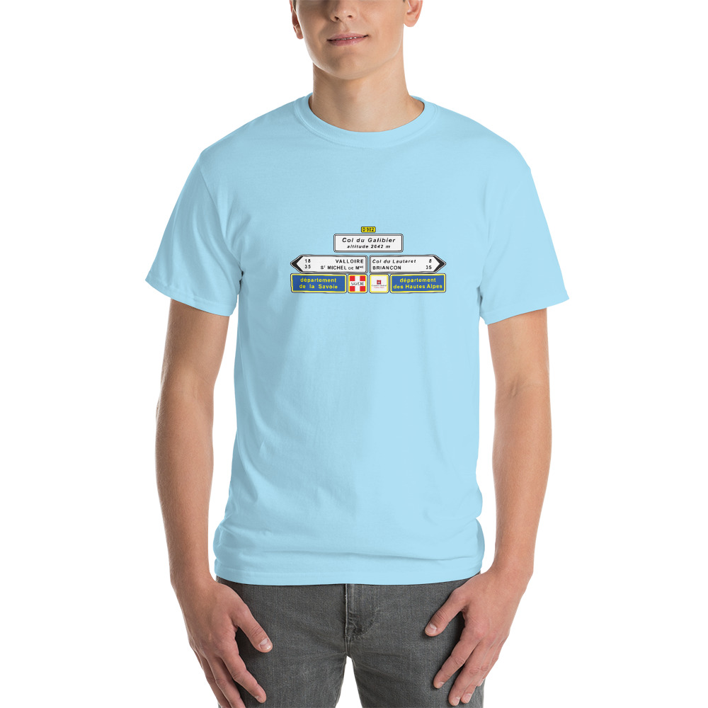 Velo Mule Cycling Col du Galibier T-Shirt