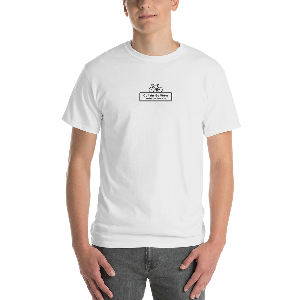 Col du Galibier Cycling T-Shirt Velo Mule