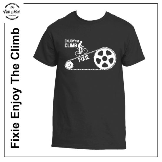 Fixie Enjoy The Climb Cycling T-Shirt