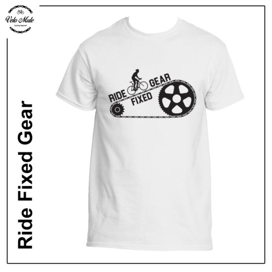 Velo Mule Ride Fixed Gear Cycling T-Shirt