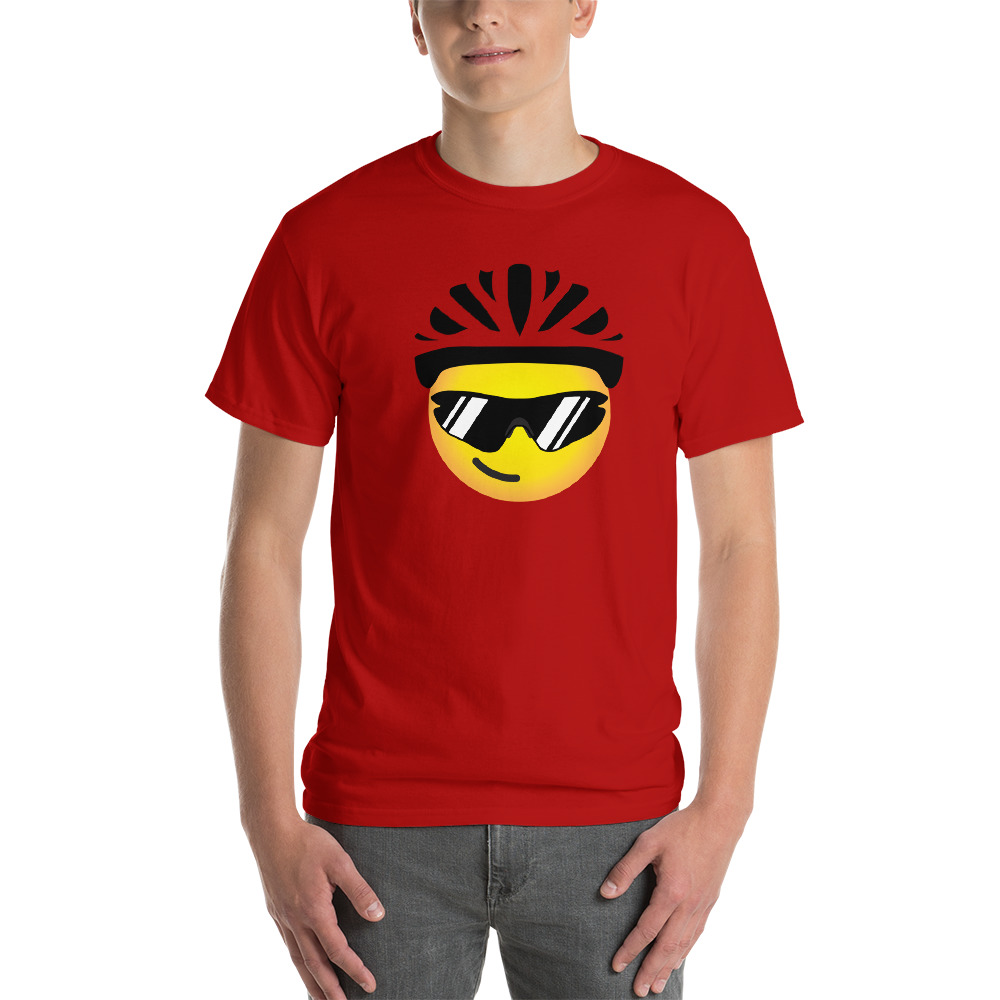 Velo Mule Cycling Emoji T-Shirt