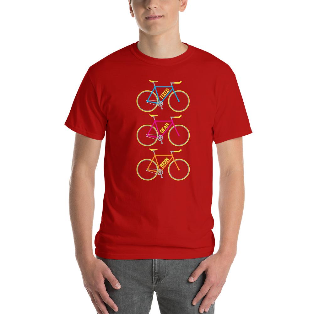 Velo Mule Fixed Gear Ridin' Cycling T-Shirt
