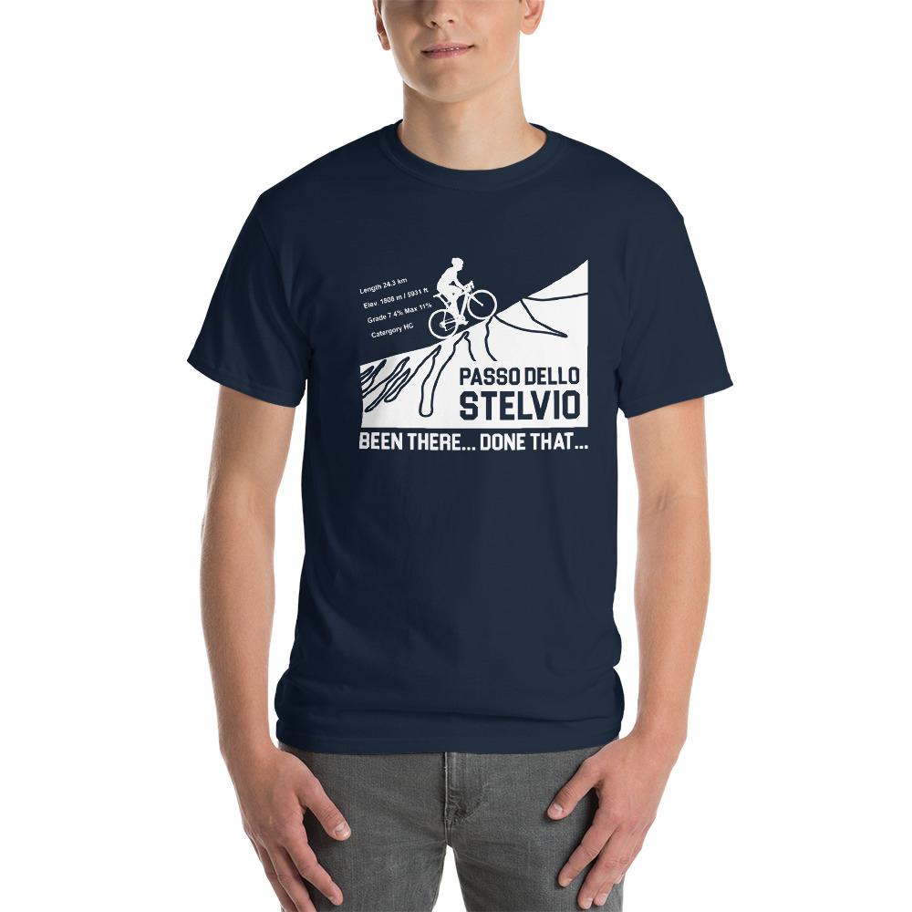 Velo Mule Passo Dello Stelvio Cycling T-Shirt
